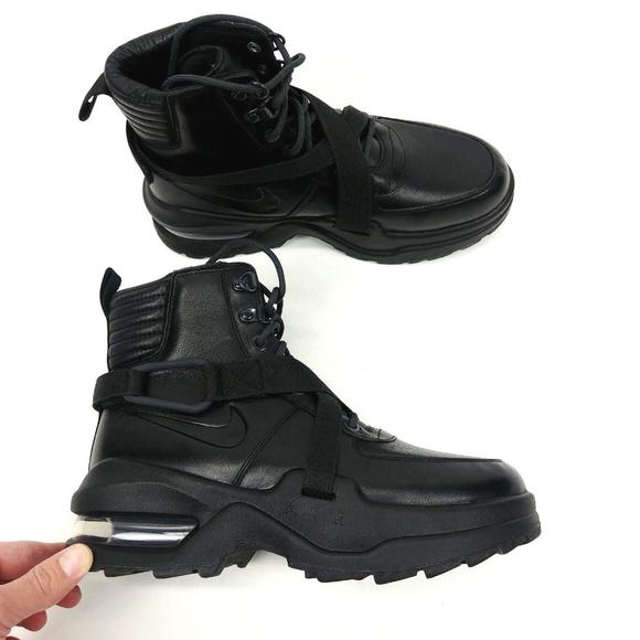 watch 13470 533b5 Nike Air Max Goadome Black Anthracite Boots NWOB. M5aea0f8db7f72b820c5204bc